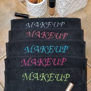 Embroidered Makeup Washcloths ~ Purchase 2 and save $3.00!!!