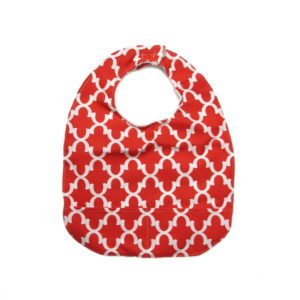 Red Adult Bib