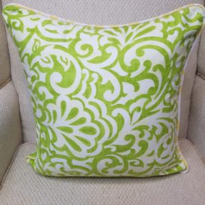 Lime & Yellow Flourish