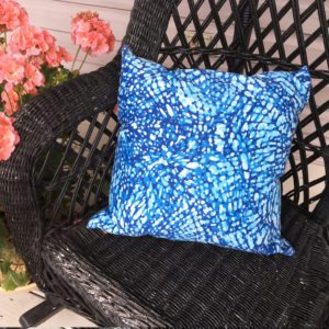 Pool Blue Water (indoor/Outdoor) Pillow