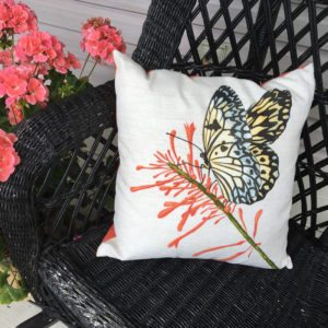Butterfly (indoor/Outdoor) Pillow