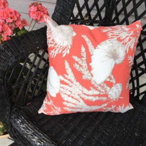 Coral & Shells (indoor/Outdoor) Pillow