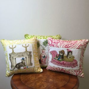 """Its a Cat's Life"" Pillow Collection"