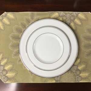 Yellow & Lavender Placemat