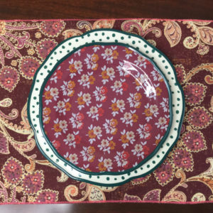 Berry Paisley Placemat