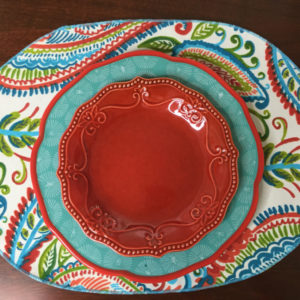 Colorful Paisley Placemat