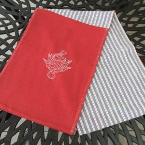 Red, White & Blue Nautical Table Runner