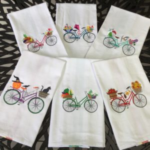 Bike Dish/Hand Towels Collection