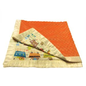 Zoo Crib Blanket
