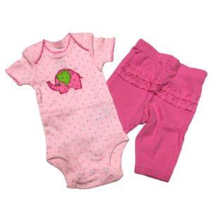 Pink Elephant Set