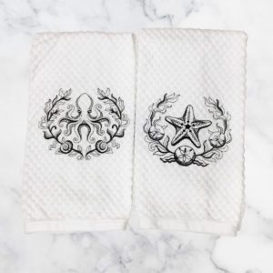 Laurel Twins Dish/Hand Towels Collection