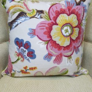 Bold Floral Pillow