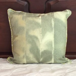 Shiny Sea Green Pillow