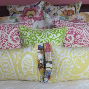 Summer Flower Pillow Collection
